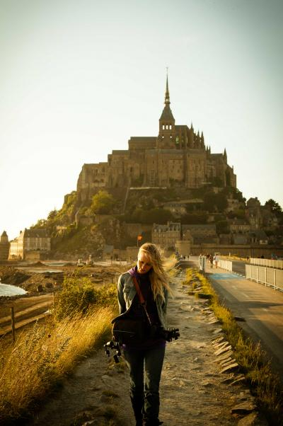 Mont Saint-Michel, France 2012.