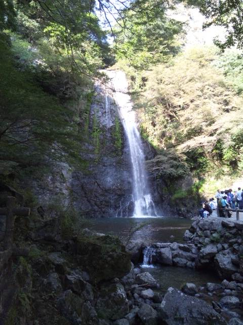箕面滝 引き1
