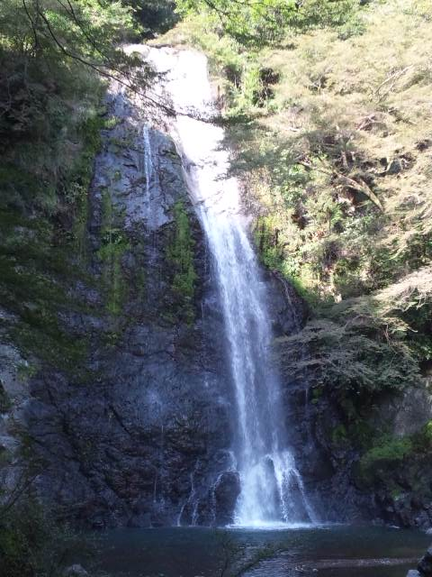 箕面滝 アップ1