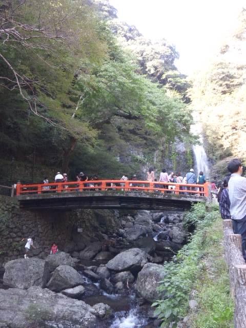 箕面滝 引き2
