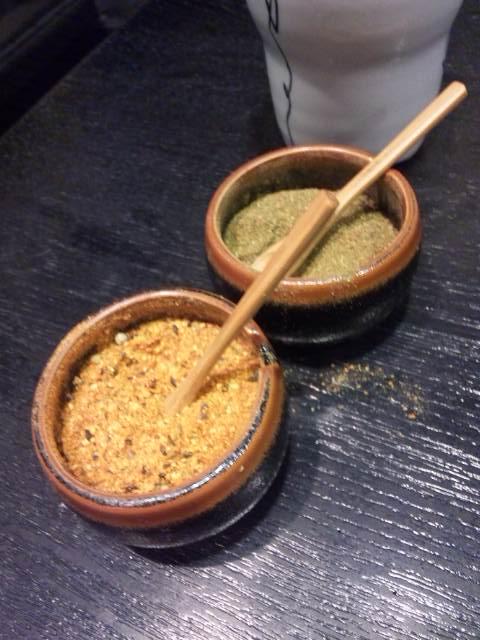 七味(一味?)と山椒
