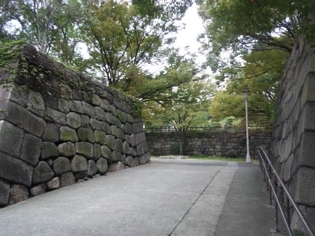 大阪城への入り口