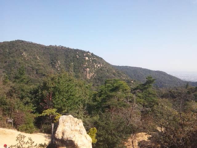 風吹岩からの風景(東)