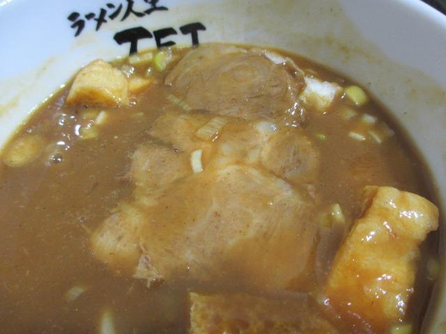 カレーつけ麺のチャーシュー