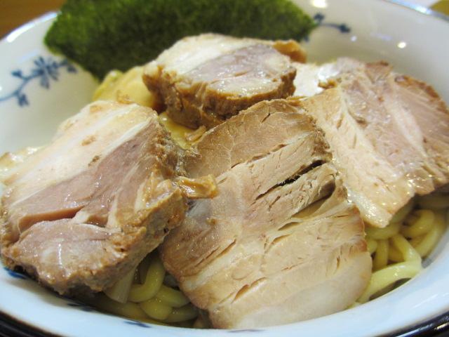 焼豚つけめんの麺