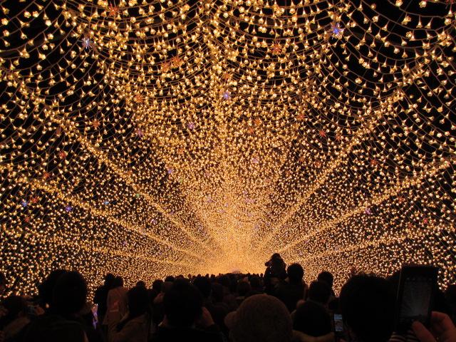 光のトンネル「華回廊」