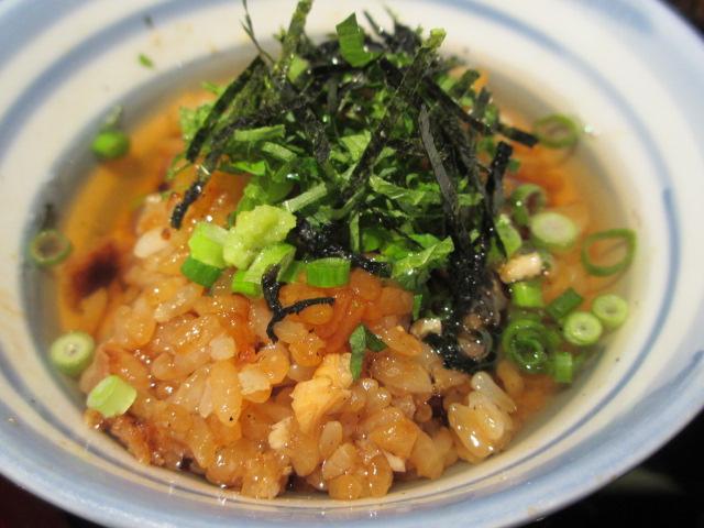 三膳目(お茶漬け)