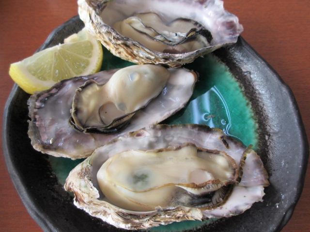 坂越御膳の蒸し牡蠣
