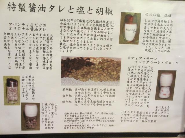 スエヒロ アバンティ店 調味料説明