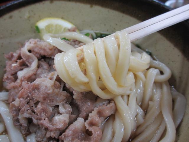 山下うどん 肉ぶっかけ麺