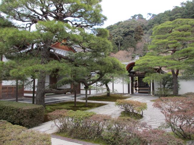 銀閣寺 景色