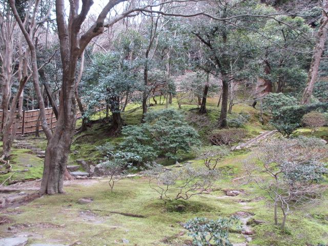 銀閣寺 山道