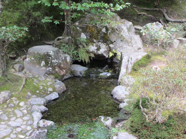 銀閣寺 お茶の井