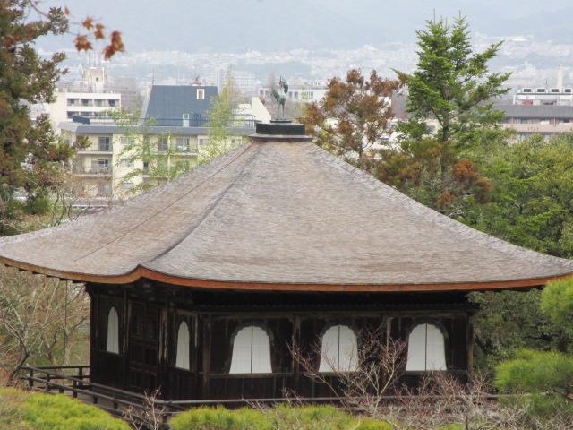銀閣寺 山道から銀閣