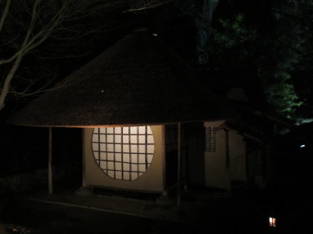 遺芳庵(夜)