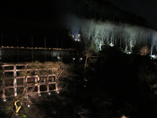 清水の舞台から奥の院
