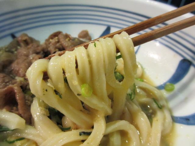 楽々 和牛肉ぶっかけ 麺