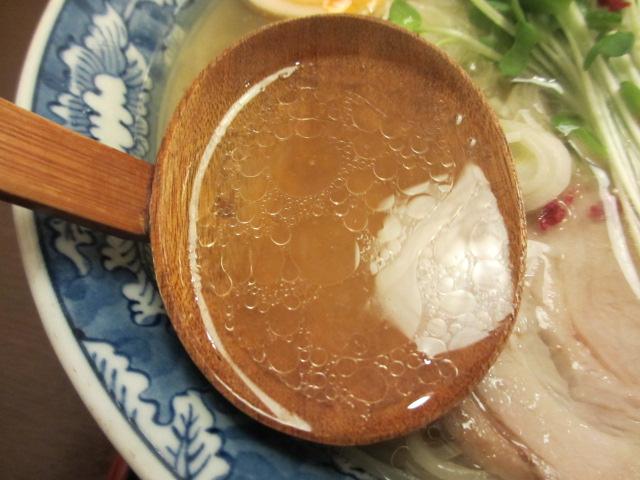 こだわりの塩 玉子入り スープ
