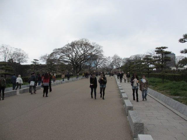 大阪城公園 天守閣へ4