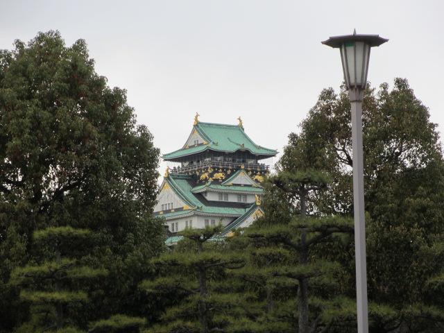 大阪城公園 天守閣へ5