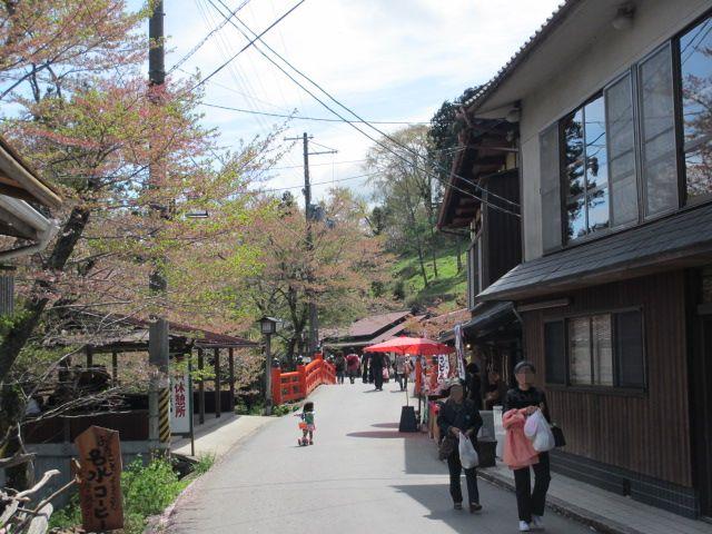 七曲り坂~金峯山寺銅鳥居1