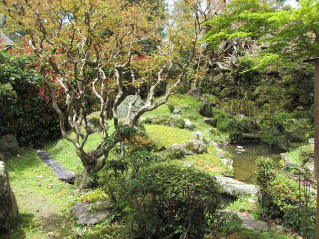 吉水神社(吉水院庭園)