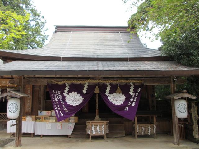 吉水神社(本殿)