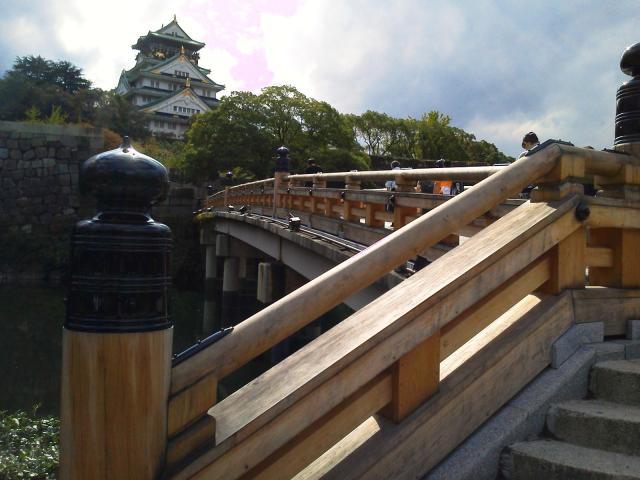極楽橋からの天守閣1