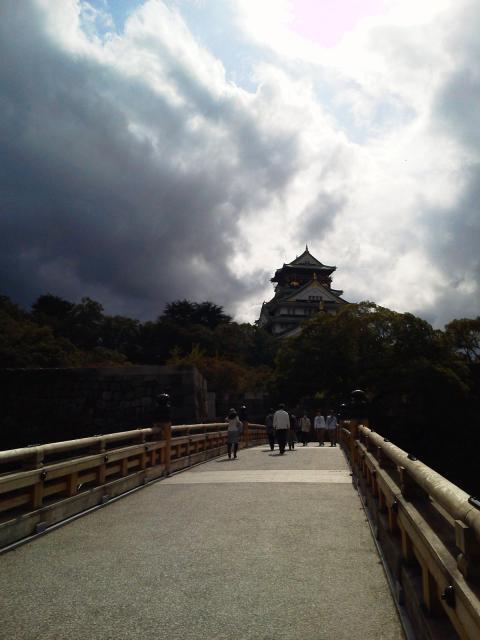 極楽橋からの天守閣2