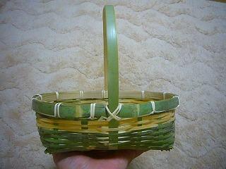 竹かごミニ