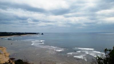 素晴らしき土浜の眺め1