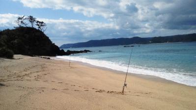 昨朝の鯨浜1