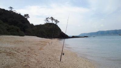 今朝の鯨浜、水綺麗2