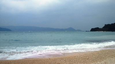 大荒れの鯨浜2