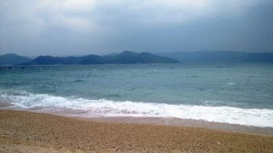 大荒れの鯨浜3