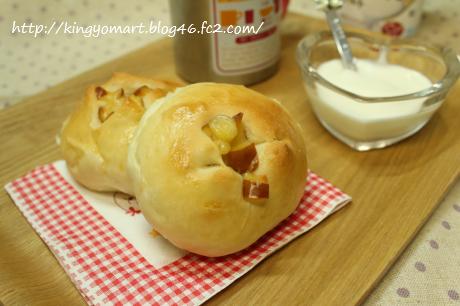 スモークチーズパン