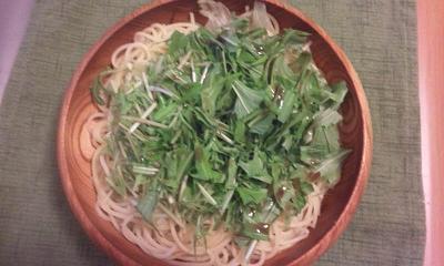 夕飯20111210