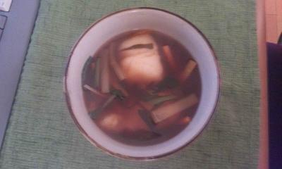 夕飯20120104