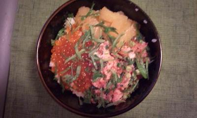 夕飯20120107