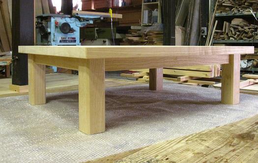桐テーブル、桐の机