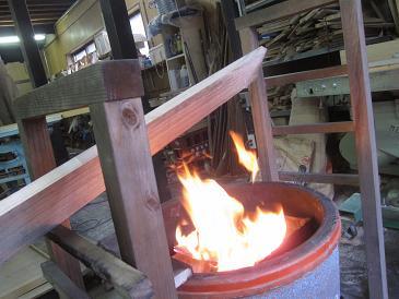 桐の板焼き