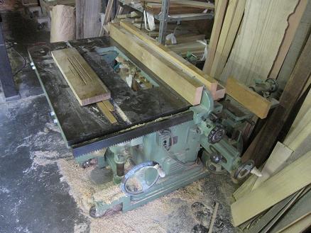 木工機械昇降版