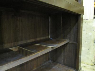 水屋箪笥の修理が必要な箇所