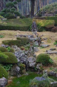 龍雲寺の涸滝組