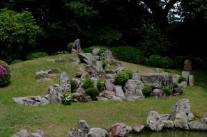 萬福寺のお庭
