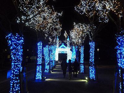 亀山公園イルミネーション