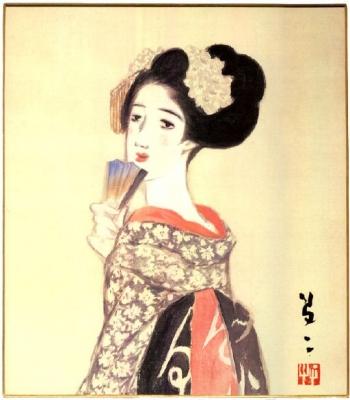 竹久夢二「舞姫」