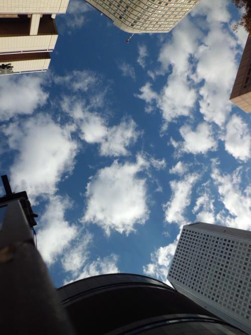 新宿の空 201311