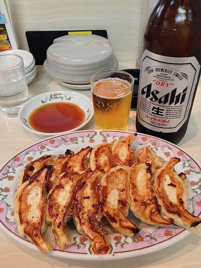 餃子リャン&ビール (^ε^)♪