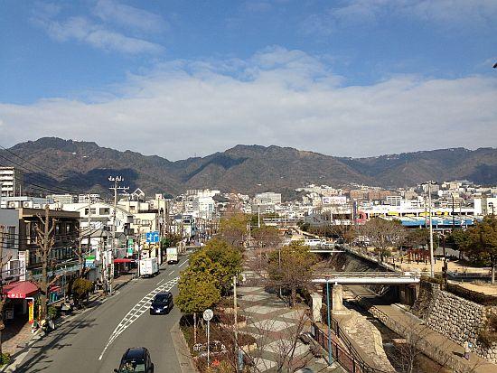 摩耶山、長峰山